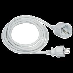 Somogyi NV 2-3/W 3m fehér hosszabbító