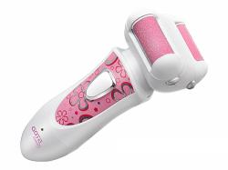 Gotie GPL-200R újratölthető akkumulátor, 3 W, rózsaszín-fehér elektromos bőrreszelő