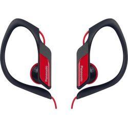 Panasonic RP-HS34E-R 3.5mm jack piros-fekete clip on fülhallgató