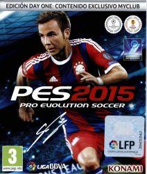 PES 2015 D1 (Xbox One) játékszoftver
