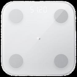 Xiaomi Mi Body Composition Scale 2 Bluetooth 5.0, 100 g – 150 kg fehér testtömeg összetétel elemző okosmérleg