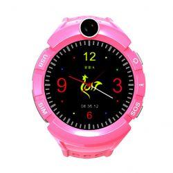 Art Watch Phone Kids SMART LOK-3000O GPS, WIFI, 400 mAh pink okosóra