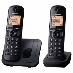 Panasonic KX-TGC212PDB DECT vezeték nélküli telefon (Asztali telefon)
