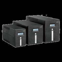 KSTAR Micropower 800VA USB, LCD - Line-interaktiv Szünetmentes táp (Szünetmentes táp)