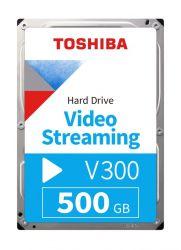 "Toshiba V300 Video Streaming 3.5"" 500GB SATAIII 5700RPM 64MB belső merevlemez"