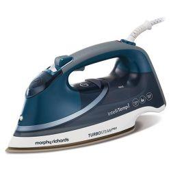 Morphy Richards 303131 3100 W, 0.4 l kék-fehér száraz és gőzölős vasaló