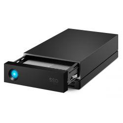 LACIE 1big Dock Pro TB USB 3.1 / Thunderbolt 3 fekete külső SSD