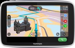 TomTom GO Premium 6 World (1PL6.002.30) élettartam térkép/sebességmérő, SIM, Bluetooth fekete GPS navigáció
