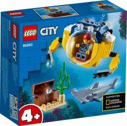 LEGO® (60263) City Oceans Óceáni mini-tengeralattjáró