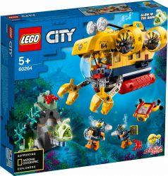 LEGO® (60264) City Oceans Óceáni kutató tengeralattjáró