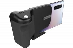 "Samsung GP-TOU019SABBW 4.5""+, fekete FitGrip mobil markolat"