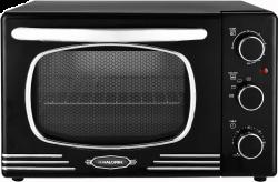 Kalorik OT2500R 19.5 L, 1300 W fekete retro grillsütő