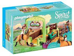 Playmobil® (60747) SPIRIT Lucky és Spirit istállója