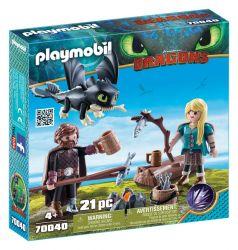 Playmobil® (60752) Dragons Hablaty és Astrid játék szett