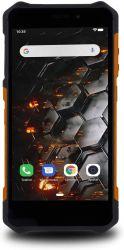 """myPhone Hammer Iron 3 5.5"""" 16GB Dual SIM 3G fekete-narancs csepp-, por- és ütésálló okostelefon"""