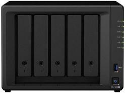 Synology DiskStation DS1520+ 5-lemezes (4×2-2,7 GHz CPU, 8 GB RAM) Nas szerver