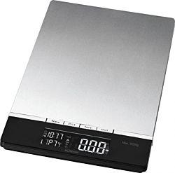 Bomann KW 1421 CB max. 5 kg, LCD fekete-ezüst digitális konyhai mérleg