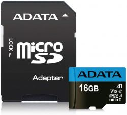 Adata AUSDH16GUICL10A1-RA1 SDHC 16GB memóriakártya adapterrel