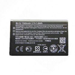 Nokia BV-5J (Lumia 532, 435) 1560mAh Li-ion, OEM, csomagolás nélküli gyári akkumulátor