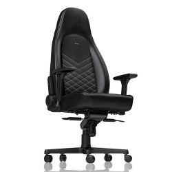 Noblechairs ICON Fekete/Platinafehér Gamer szék