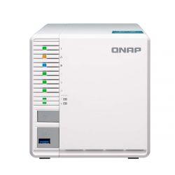 QNAP TS-351-2G Intel® Celeron J1800 2.41GHz 2GB 3-lemezes fehér NAS szerver