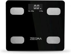Zeegma Gewit LCD, max. 200 kg fekete-ezüst analitikai mérleg