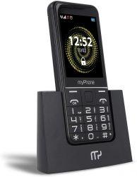 """myPhone Halo Q 2.8"""" Dual SIM 2G fekete mobiltelefon"""