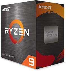 AMD Ryzen 9 5950X 3,5GHz AM4 BOX (Ventilátor nélküli) processzor