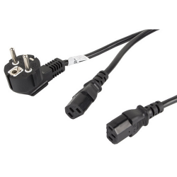 Lanberg CEE 7/7 - C19 16A 1.8m szerver tápkábel