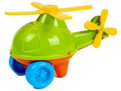 MTS 62470 (11 cm) zöld műanyag helikopter