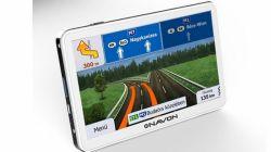 """Navon N670 Plus White 5"""", 4 GB, 128 MB RAM fehér GPS navigáció iGO8 Magyarország térképpel"""