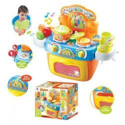 G21 008-97 színes Zenélő gyermekkonyha kiegészítőkkel