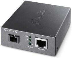 TP-Link TL-FC111A-20 WDM 100(réz)-100FX(SC) Single mód optikai média konverter