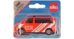 Siku 65313 (8 cm) piros-fehér Volkswagen tűzoltó furgon