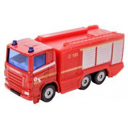 Siku 66955 (9 cm) piros Scania tűzoltó teherautó