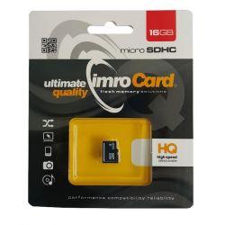 IMRO 4/16GB MicroSDHC 16GB Class 4 memóriakártya
