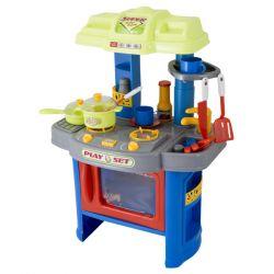 G21 (690403) 008-26A kék gyermek konyha edénykészlettel