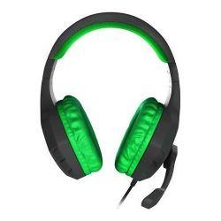 Natec Genesis  Argon 200 zöld gamer fejhallgató