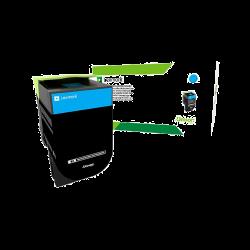 Lexmark 702XCE Cyan 4.000 oldal / CS510 nagy kapacitású toner