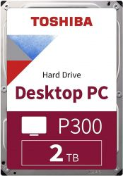 Toshiba P300 HDD 3.5, 2TB, SATA, 64MB cache, 7200RPM, Belső merevlemez