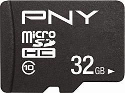 PNY PERFORMANCE PLUS 32GB MICRO SD Class 10 memóriakártya + SD adapter