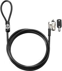 HP T1A64AA Dual Head kulcsos fekete notebook zár