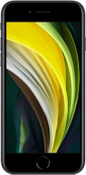 "Apple iPhone SE (2020) 4.7"" 256GB Dual SIM 4G/LTE fekete mobiltelefon"