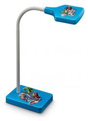 Philips myKidsRoom Disney Avengers műanyag kék olvasó lámpa