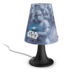 Philips myKidsRoom Disney Star Wars műanyag fekete asztali lámpa