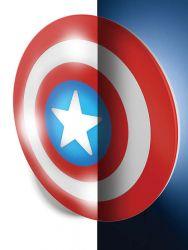 Philips myKidsRoom Disney Captain America 3D műanyag mintás fali lámpa