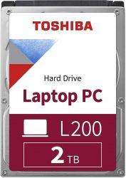 "Toshiba L200 Laptop PC 2.5"" 2TB SATAIII 5400RPM 128MB Dobozos belső merevlemez"