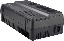 Apc BACK-UPS BV Easy 650VA AVR, 230 V fekete szünetmentes tápegység