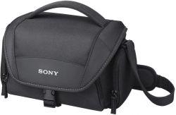 Sony LCS-U21 fekete fotós válltáska