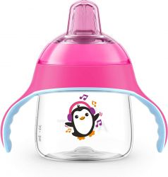 Philips Avent SCF746/03 200ml  6h+ pingvines rózsaszín prémium varázsitató